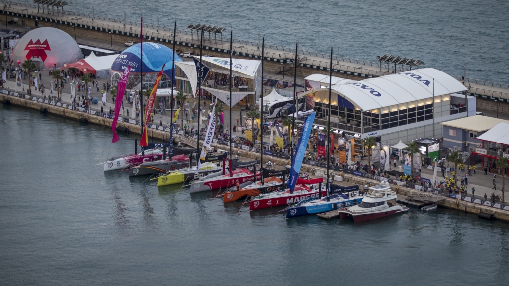 Race village experience | Volvo Ocean Race