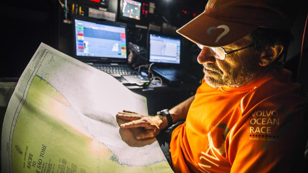 Who was Leg 1 best navigator? | Volvo Ocean Race