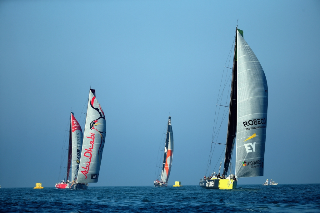 In-Port Race Abu Dhabi | Volvo Ocean Race