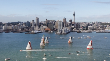 Leg 5 - Start Auckland