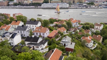 Leg 9 to Gothenburg - Arrivals