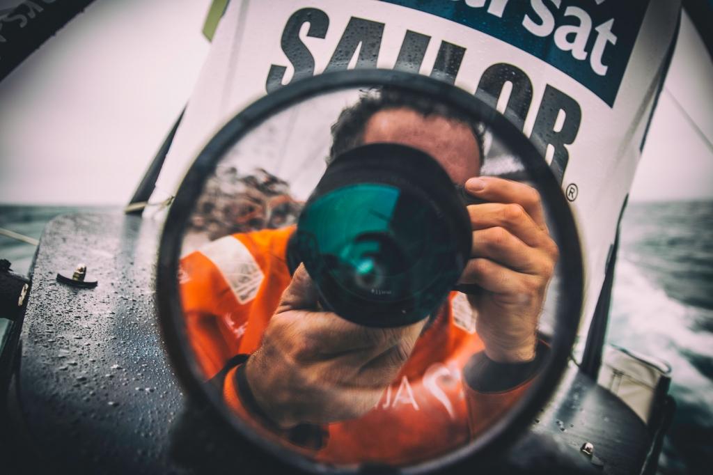 Resultado de imagen de reporteros volvo ocean race